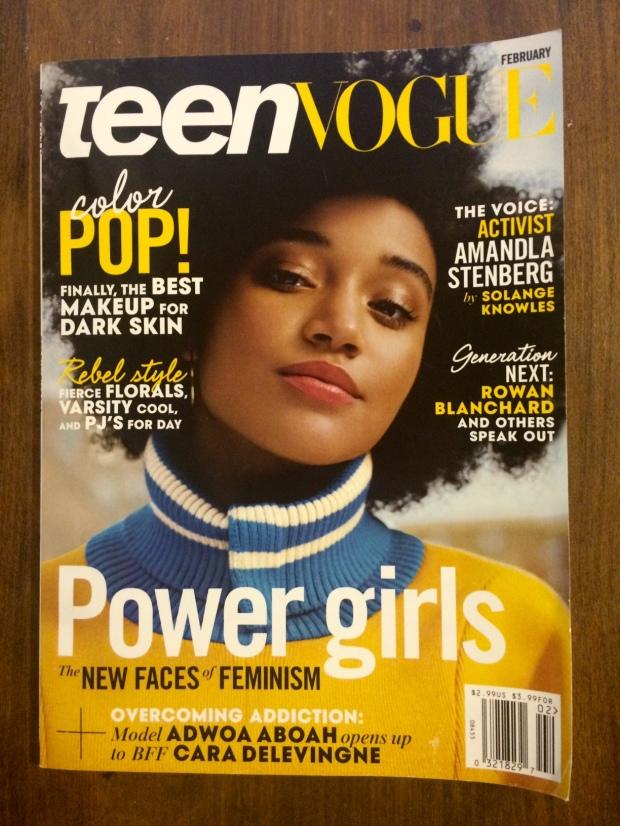 Teen Vogue Amandla